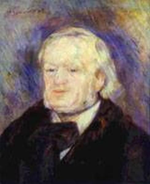 Portrait of richard wagner 1882 xx musee dorsay paris